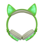 Cat ухо Cute дизайн наушников для продажи с возможностью горячей замены партии товаров на складе