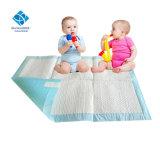 Großes 60 x 60cm Disposale Baby erwachsenes Underpad mit saugfähiger Flaum-Massen-Baumwolle