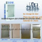 420L Merchandiser van het ijs Gebruikte Opslag voor Openlucht