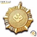昇進のギフトの記念品の金属のスポーツメダル