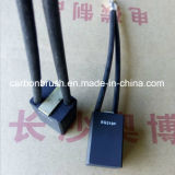 Della Cina del grado del carbonio della grafite della spazzola spazzola di carbone 319P PER ESEMPIO per i motori del generatore
