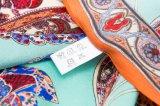 カスタマイズされたデザイン方法絹のスカーフ