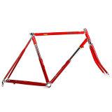 Сиденье и головки блока цилиндров с помощью трубы рамы для велосипеда