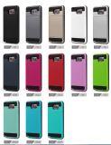 1つのRemoveableの細い装甲カードの札入れに付き2つはiPhone Xのためのスライダの箱を8 8プラスのSamsung S8の端のノート8包装する