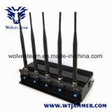5 de Stoorzender van de Telefoon van de Antenne van de hoge Macht & GPS Stoorzender