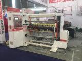 2018 접착성 라벨 BOPP PVC PE 필름 높은 속력을 내는 째는 기계