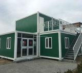 강한 프레임 구조를 가진 20FT 조립식 가옥 콘테이너 집