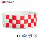 Neues Produkt-Silk Bildschirm-Drucken-HFRFID Tyvek Wristband