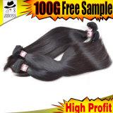 venda por atacado natural malaia do cabelo de Remy da classe 7A