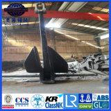 8500kgs 높은 보유력 배 닻 8.5 톤 Danforth