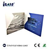 Compañía que hace publicidad del vídeo de la propaganda del LCD de 5 pulgadas para el ferrocarril
