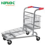 Les deux sens de l'entrepôt Chariot cargo panier haute capacité