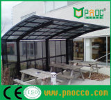 Parking Garages avec terrasse de toit auvent en polycarbonate (227CPT)
