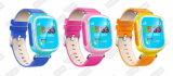 Reloj elegante Anti-Perdido perseguidor del protector seguro de los niños del localizador del GPS del cabrito G5/G3