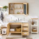 Chinesischer Fußboden, der moderne Art-hölzerne Badezimmer-Eitelkeit (ACS1-W99, steht)