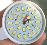 marco de aluminio de 18W E27or B22 SMD dentro de las lámparas del LED