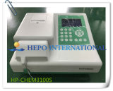 Instrument d'analyse de la chimie de l'analyseur de biochimie Semi-Auto