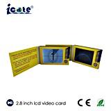 Tarjeta de visita de la pantalla del LCD de 2.8 pulgadas con la resolución 320*240