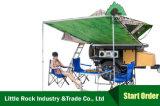 Canvas 2m*2m van de Tent van het Dak van de auto 280g het Afbaarden van de Auto voor Openlucht het Kamperen Zonnescherm