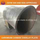 Abnutzungs-beständiges Stahlrohr für das Ausbaggern