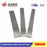Tiras planas de carburo de tungsteno para herramientas de corte de madera