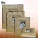 Taille personnalisée de feuilles auto-adhésif PU COUVRIR Album Photo