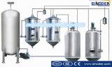 Неныжное масло рециркулируя оборудование регенерации масла завода рафинировки масла машины