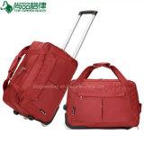 A fábrica personalizou sacos rodados forma do trole do curso dos sacos da bagagem