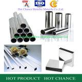 AISI 201, 304, tubo de acero inoxidable 316