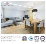 Mobília moderna do hotel com o sofá de canto cinzento da entrada (YB-C-7)