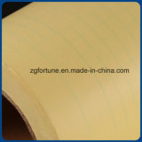 Película fria da laminação do PVC do papel do revestimento protetor do amarelo da qualidade superior