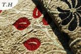 Tessuto di Chenille del jacquard del tessuto del sofà della Doubai (FTH31036)