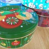 Weihnachtszinn-Kasten für Süßigkeit-Biskuit-Plätzchen