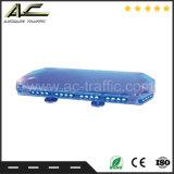 Qualidade de alto brilho piscando na barra de luz de segurança de tráfego na estrada