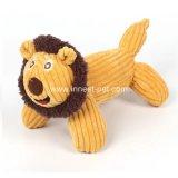고품질 애완 동물 제품 사자 악어에 의하여 채워지는 견면 벨벳 개 씹기 동물 장난감