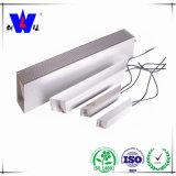 Resistores fixos do resistor Wirewound de alumínio