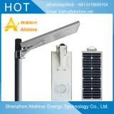 réverbère solaire Integrated de l'éclairage DEL des produits 15W de lampe extérieure de jardin
