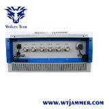 無線制御6バンド530W GSM CDMA 3G 4G UHF VHFシステム刑務所のシグナルの妨害機(600mまで詰め込む)