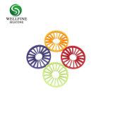 Herstellen Entwurfs-runde Form-Größen-der justierbaren Isolierungs-Silikon-Wärme-Matte