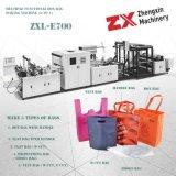 Sacchetto non tessuto della casella che fa macchina con la maniglia in linea (Zxl-E700)