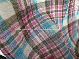 준비되어 있는 직물 털실은 면 주름 검사 직물 Lz2339를 염색했다