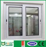 Окно алюминиевого профиля верхнего качества сползая с Tempered стеклом