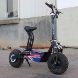 オフロード折りたたみの電気移動性のスクーター1600Wの脂肪質のタイヤ48V 12ah