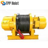 Élévateur électrique de câble métallique de phase électrique de petite taille du treuil 380V/3
