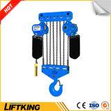 Élévateur 3t à chaînes électrique à crochet de marque de Liftking avec la protection de surcharge