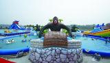 王のkong 3プールが付いている膨脹可能な水公園