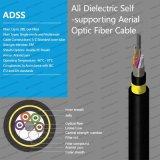 Al aire libre todos Self-Supporting ADSS dieléctrico de antena de cable de fibra óptica