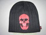 Шлем зимы Acrylic 100% напечатанный черепом связанный Beanie