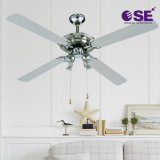 52 Inch High Quality Aluminium Color Most Popular National Ceiling Fan with Light