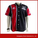 Camisas de trabalho baratas do poliéster do algodão da venda por atacado da fábrica de Guangzhou (S57)